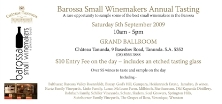 Barossa Small Winemakers Tasting