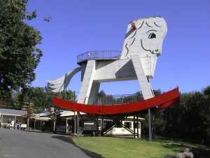 Who needs acid when you can come to Gumeracha and visit the Big Rocking Horse!
